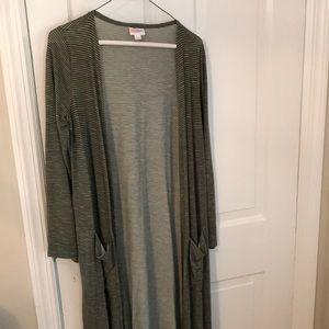 Lularoe very long cardigan